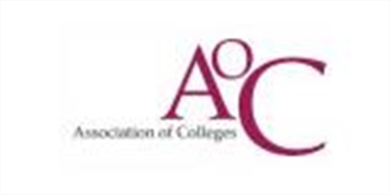 Logo for Association of Colleges (AoC)